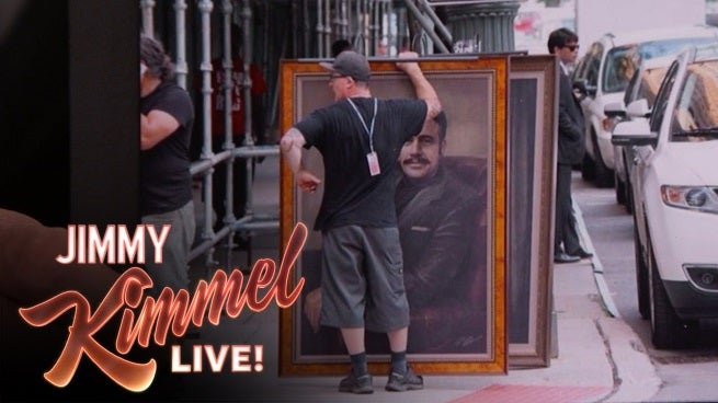 Jeffrey Dean Morgan Talks About Batman V. Superman On Jimmy Kimmel Live