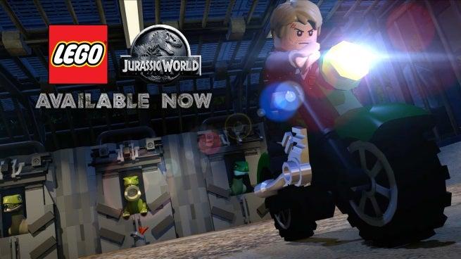 lego jurassic world launch trailer