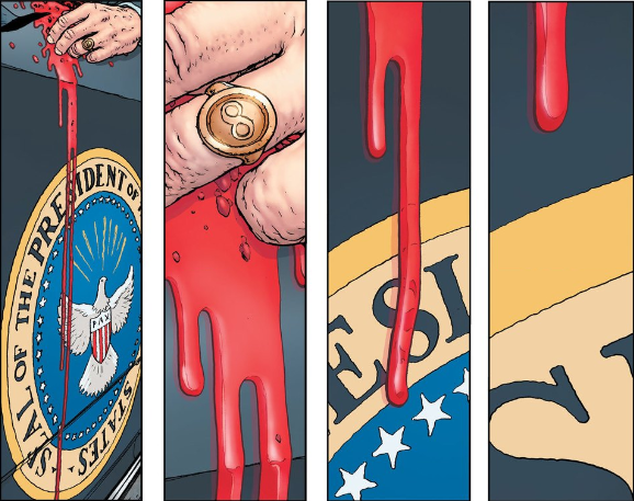 The Multiversity Pax Americana - Eisner