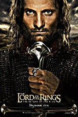 The Lord of the Rings: Return of the King movie poster image