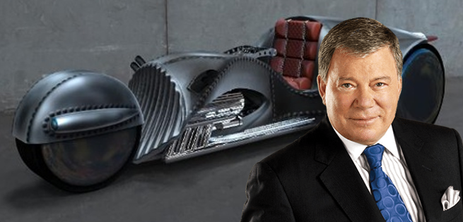 Star Trek's William Shatner To Ride Cross Country On A 3-Wheeled Motorcycle