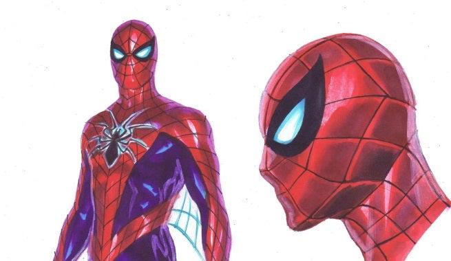 spider-man top