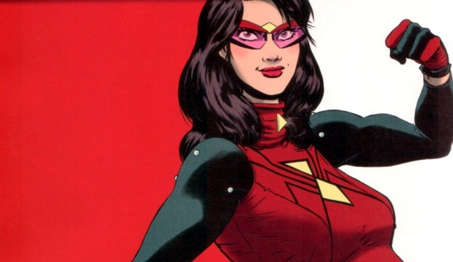 spider-woman top
