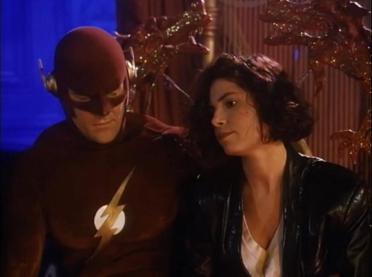 the flash barry megan