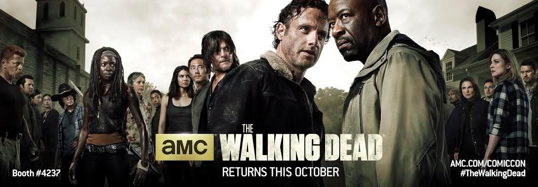 AMC Unveils Walking Dead Banner For San Diego Comic-Con