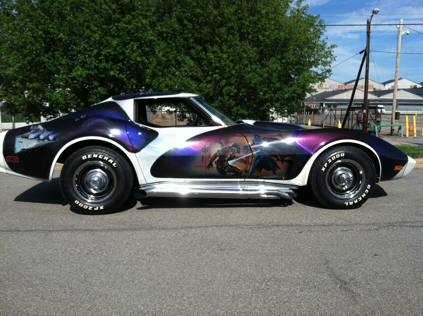Someone Is Selling A Star Wars-Themed Corvette On eBay