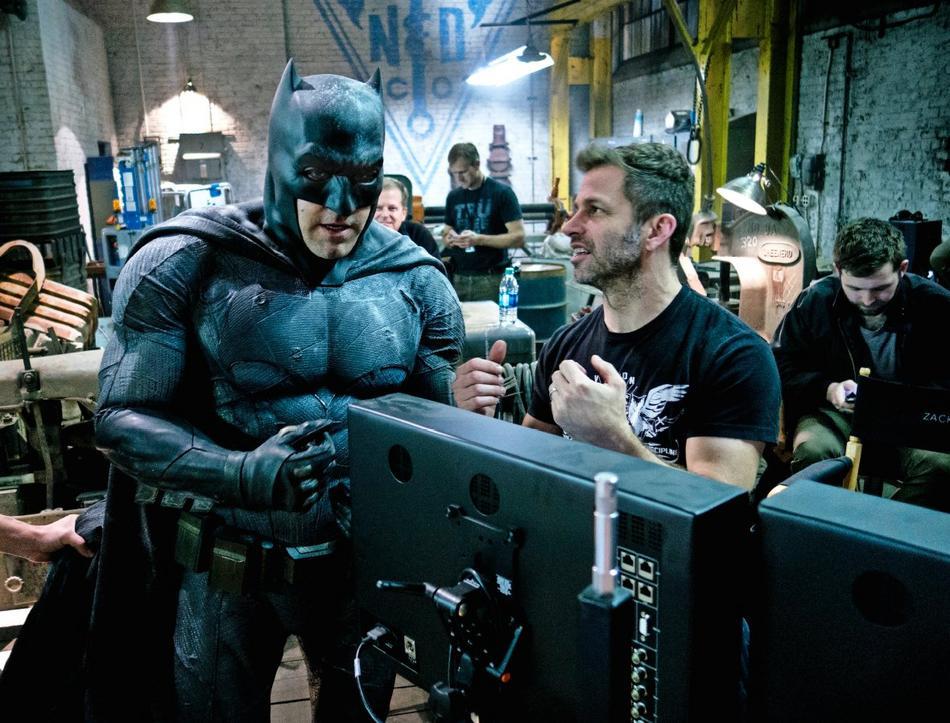 Ben Affleck Batman Zack Snyder Empire