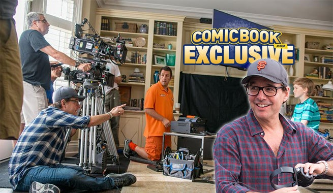 Chris Columbus Talks Pixels, Spider-Man, Comics & More