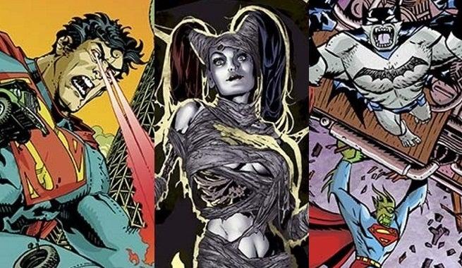 DC Monster Variants