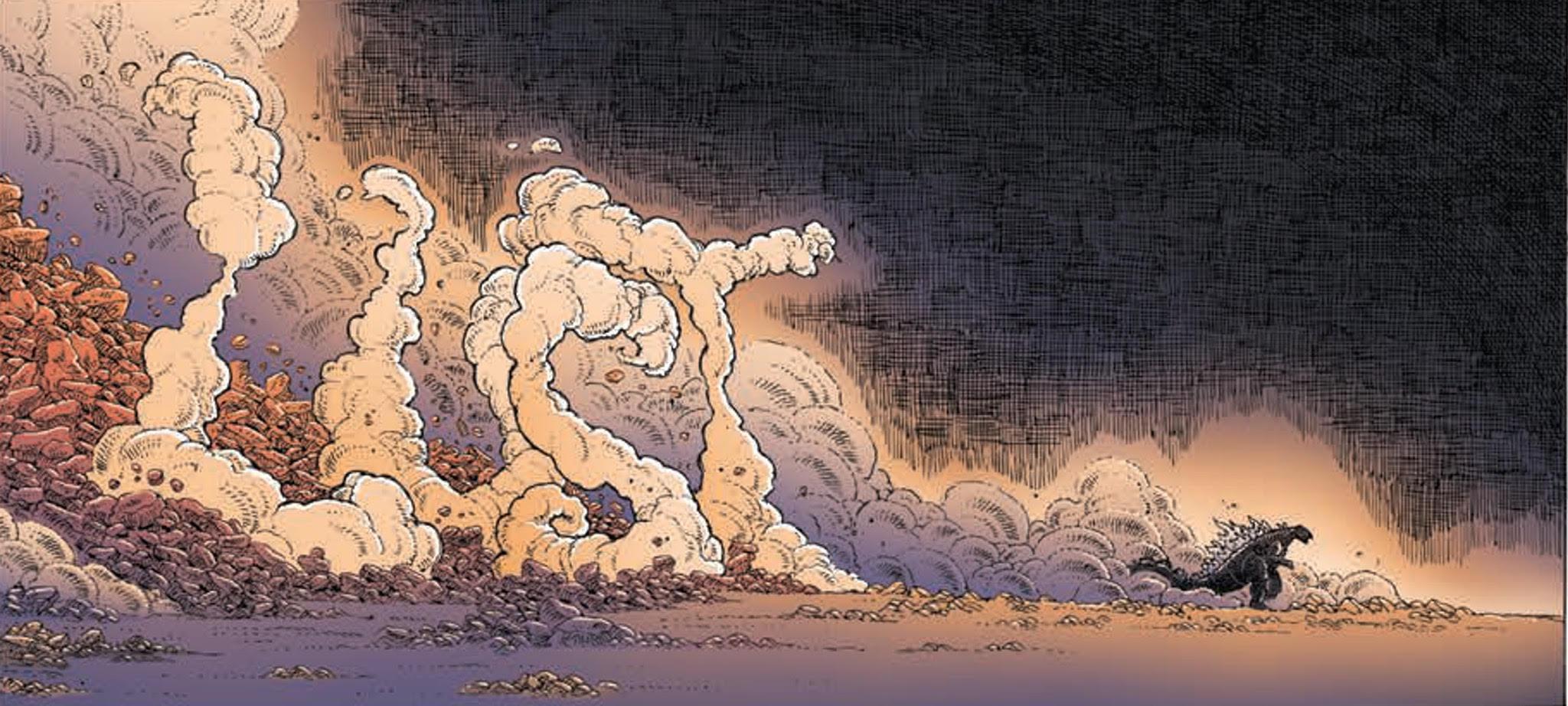FF - Godzilla in Hell #1