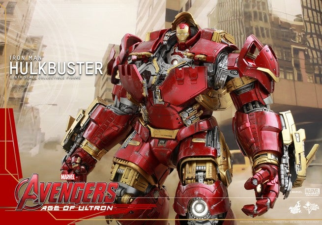 Hot Toys - Avengers - Age of Ultron - Hulkbuster Collectible Figure Update_PR2