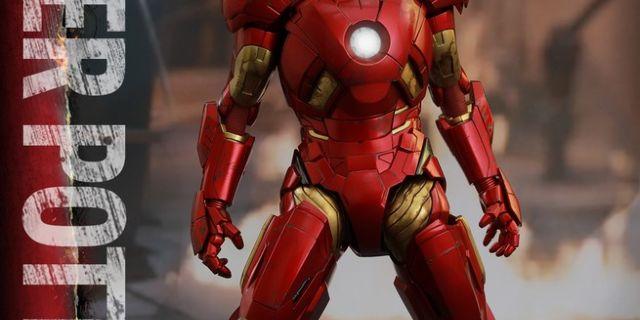 Hot Toys - Iron Man 3 - Pepper Potts & Mark IX Collectible Figures Set_PR8