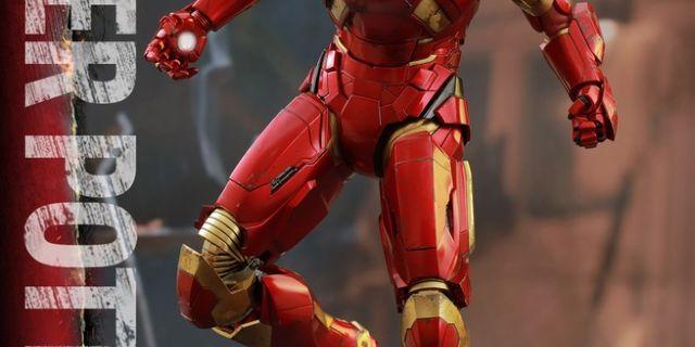 Hot Toys - Iron Man 3 - Pepper Potts & Mark IX Collectible Figures Set_PR4