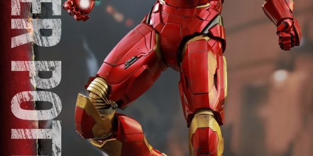 Hot Toys - Iron Man 3 - Pepper Potts & Mark IX Collectible Figures Set_PR5