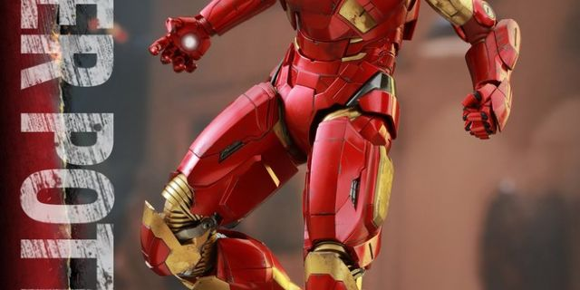 Hot Toys - Iron Man 3 - Pepper Potts & Mark IX Collectible Figures Set_PR6