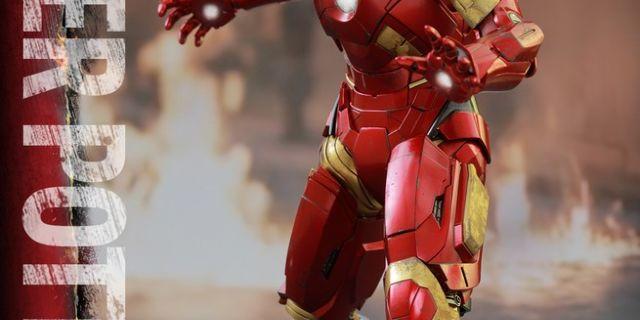 Hot Toys - Iron Man 3 - Pepper Potts & Mark IX Collectible Figures Set_PR7