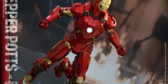Hot Toys - Iron Man 3 - Pepper Potts & Mark IX Collectible Figures Set_PR10