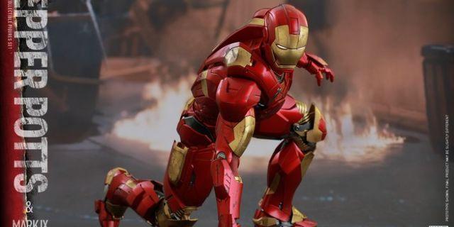 Hot Toys - Iron Man 3 - Pepper Potts & Mark IX Collectible Figures Set_PR12