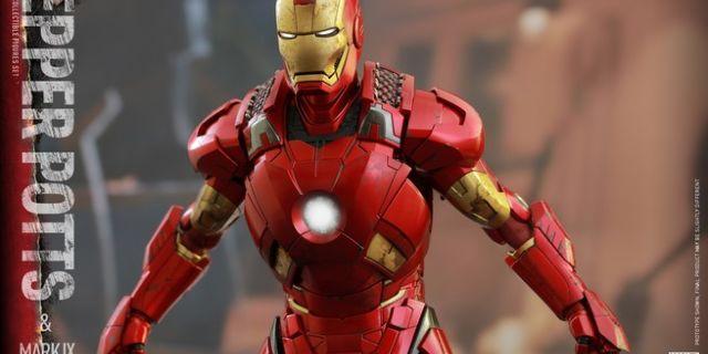 Hot Toys - Iron Man 3 - Pepper Potts & Mark IX Collectible Figures Set_PR13