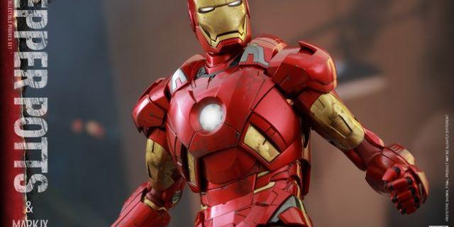 Hot Toys - Iron Man 3 - Pepper Potts & Mark IX Collectible Figures Set_PR14