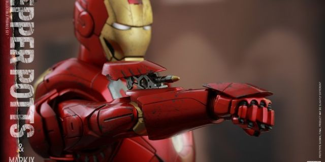 Hot Toys - Iron Man 3 - Pepper Potts & Mark IX Collectible Figures Set_PR15