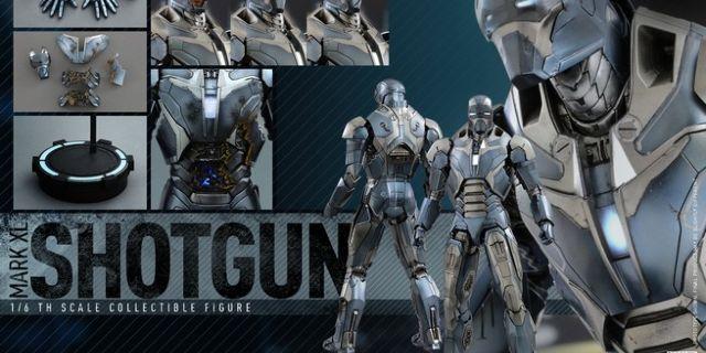 Hot Toys - Iron Man 3 - Shotgun (Mark XL) Collectible Figure_PR16