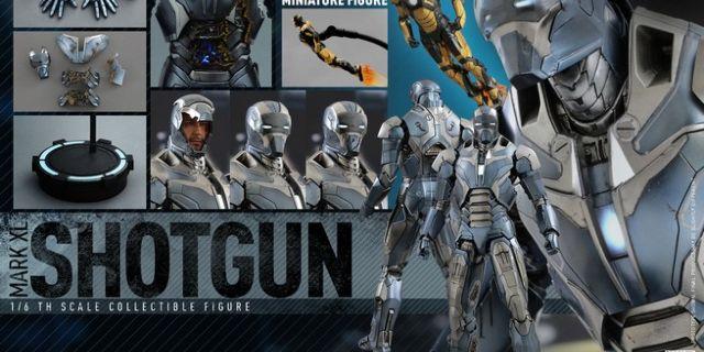 Hot Toys - Iron Man 3 - Shotgun (Mark XL) Collectible Figure_PR17_(Special Version)