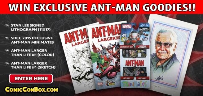 Wizard World Announces Ant-Man Contest