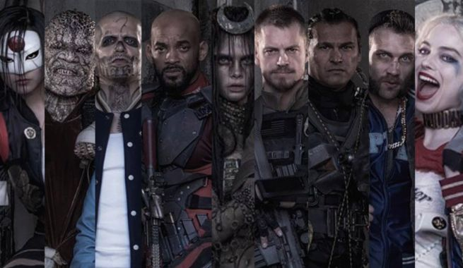New Suicide Squad Behind The Scenes Photo Released