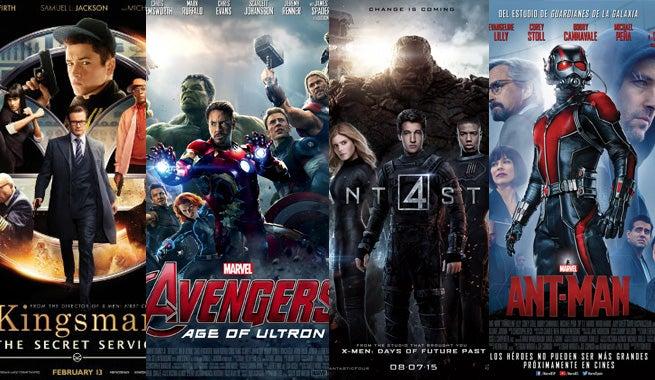 Ranking 2015's Comic Book Movies