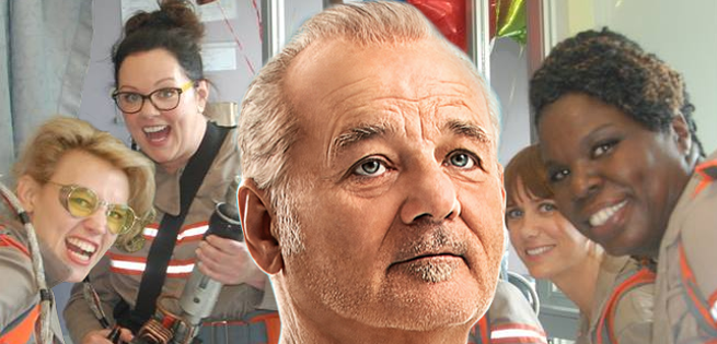 Bill Murray Role In Ghostbusters Revealed?