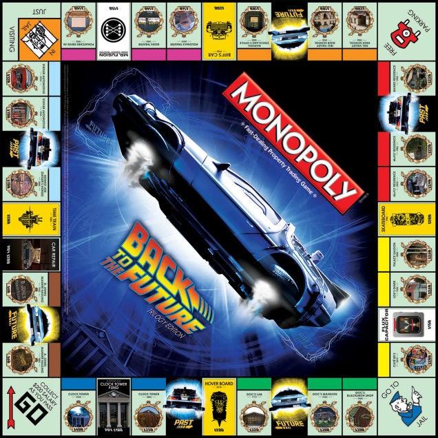 bttf monopoly board