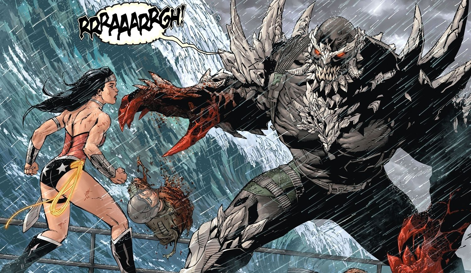 Batman V. Superman Rumored To Have Wonder Woman And Doomsday Fight