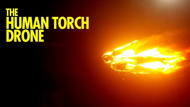 drone torch