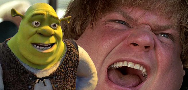 Chris Farley's Version Of Shrek Finally Leaks Online