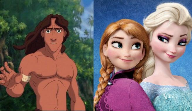 Frozen Director Debunks Tarzan Theory