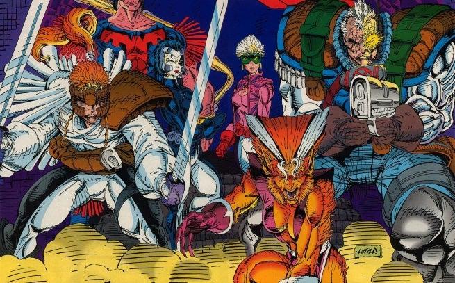 X-Force Vol 1 1 Wraparound Cover