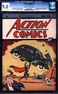 Action Comics #1 Record Price