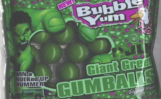 Hulk Giant Green Gumballs