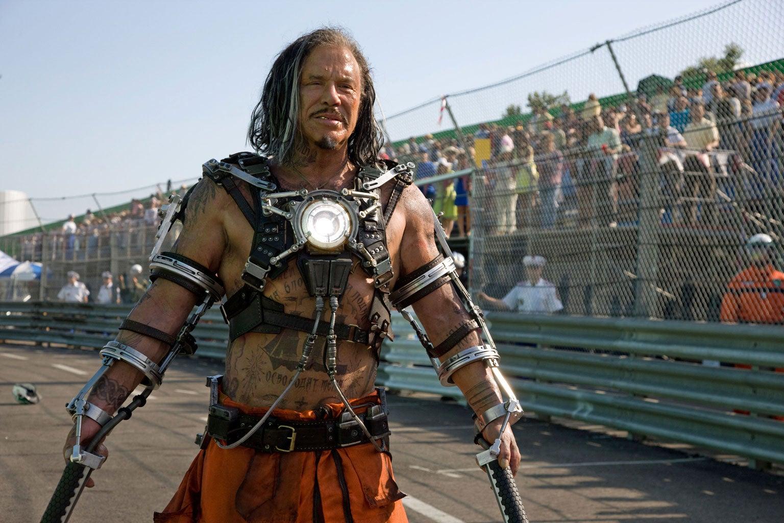 Mickey Rourke Blasts IRON MAN 2 Filmmakers