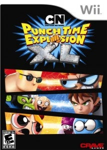 Punchtime Explosion Wii