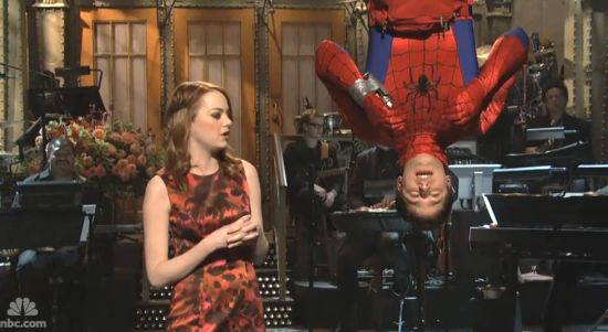 Spider-Man on Saturday Night Live