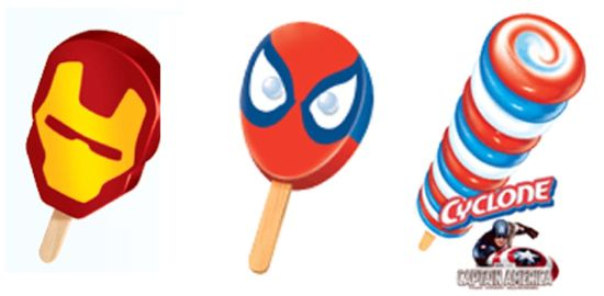 Superhero Popsicles