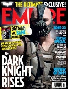 The Dark Knight Rises Bane Cover Empire Magazine