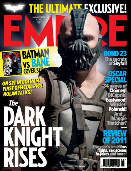 The Dark Knight Rises Bane Cover Empire Magazine