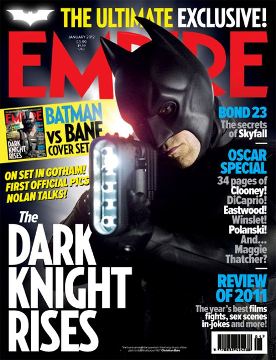 The Dark Knight Rises Batman Cover Empire Magazine
