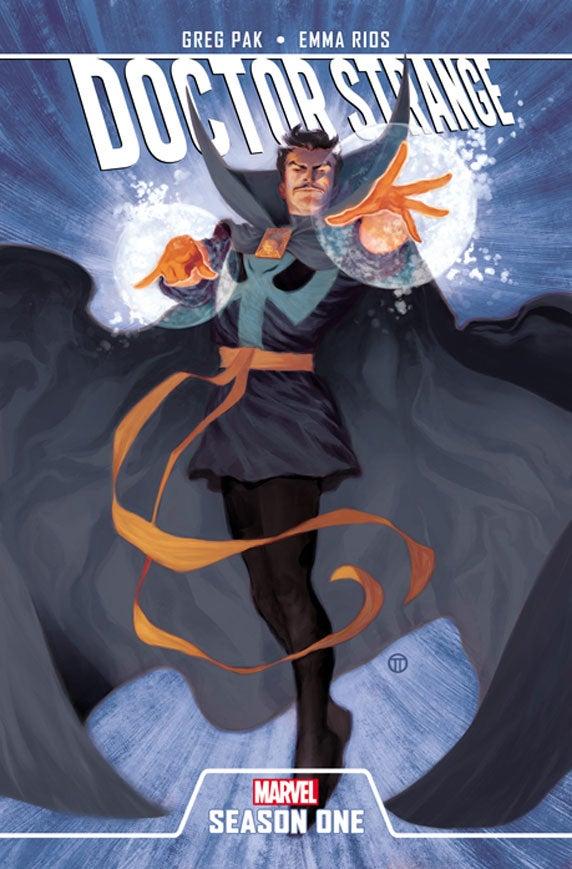 DoctorStrange_SeasonOne_Cover