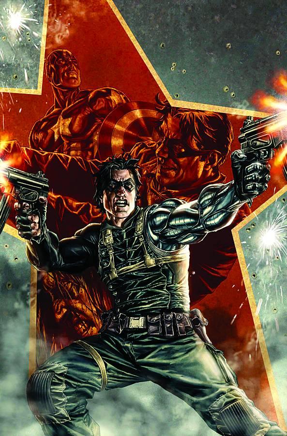 Winter Soldier Bucky Barnes Marvel
