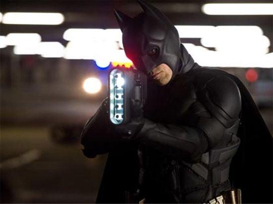 The Dark Knight Rises Batman photo