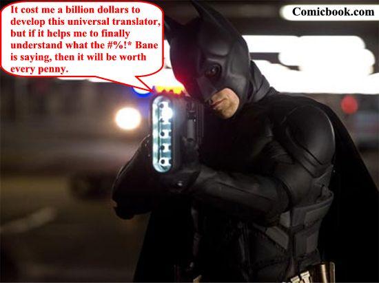 The Dark Knight Rises translator